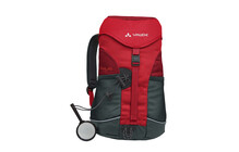 Vaude Puck 10 salsa/red